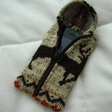 Winter Deer Hoodie Sweater Case