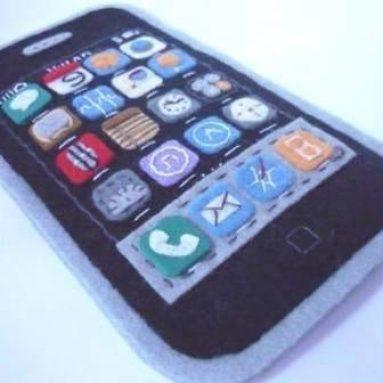 BRAND IPhone felt case
