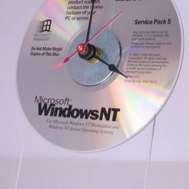 Microsoft Windows NT 4 CD Rom Clock