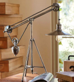 Pulley Task Table Lamp