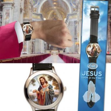 JESUS LOOK AT THE TIME