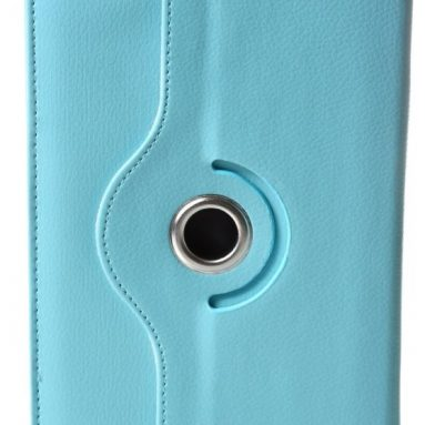 Rotating Blue Kindle Fire Case