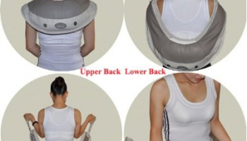 Deluxe Neck and Shoulder Massager with Heated Therapy