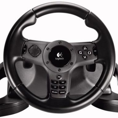 Logitech Driving Force Wireless Force Feedback Racing Wheel for PLAYSTATION 3