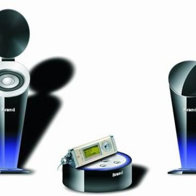 Mini Music System Cup Shape