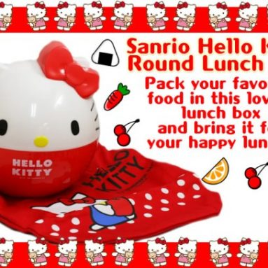 Sanrio Hello Kitty Cooking Kit with Lunch Box