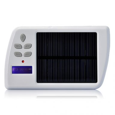 Portable Solar Charger + MP3 Player+ FM Transmitter