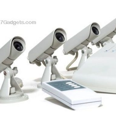 Night Vision Security Color Video Camera System