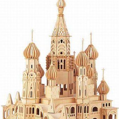 St. Petersburg Church 3D Puzzle