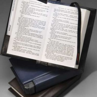 Periscope Book Light in a Bookcover