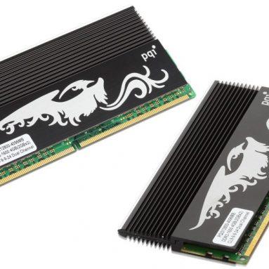 PQI Turbo Immortality Edition DDR3-1600 4GB Dual Channel Kit