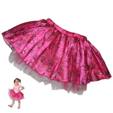 Country Western Musical Skirt