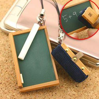 Mini- blackboard straps