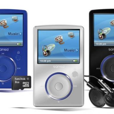 SanDisk Sansa Fuze MP3 player