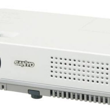 SANYO PLC-XW60: Smallest and Lightest XGA LCD Projector
