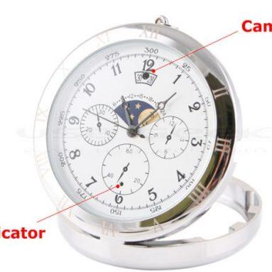 Spy Camera Pocket Watch