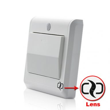 HD Spy Camera Light Switch with GSM Remote Control