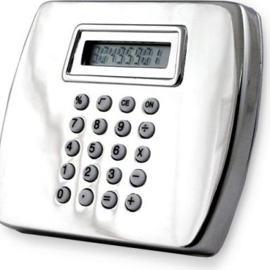 Calculator Belt Buckle