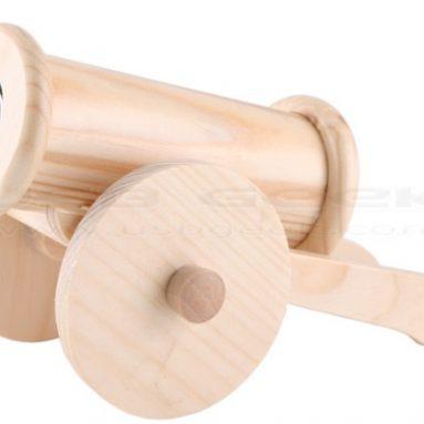 Wooden Cannon USB Speaker