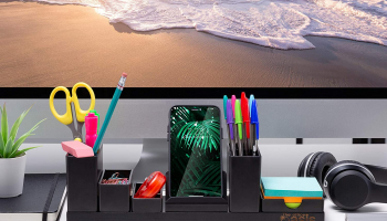 Work from Home Desk Organizer