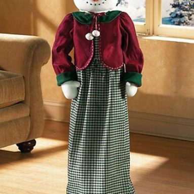 Vacuum Cleaner Cover Snowman Doll Patterns