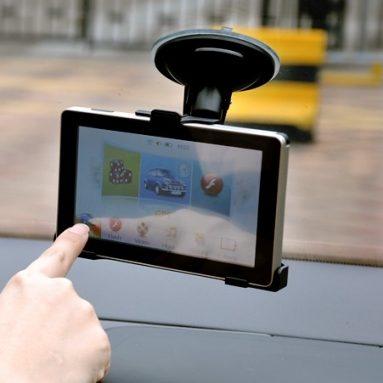 5 inch Touchscreen GPS Navigator with FM Transmitter