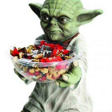 Star Wars Yoda Jedi Candy Bowl Holder