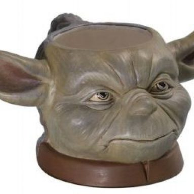 Yoda Figural Mug